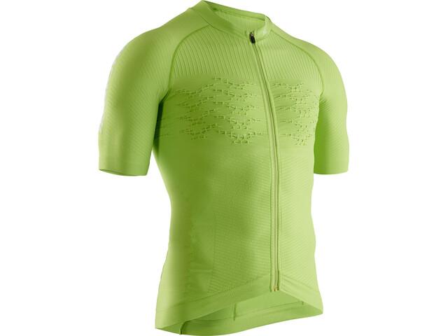 X-Bionic Effektor G2 Bike Zip Jersey SS Men effektor green/arctic white